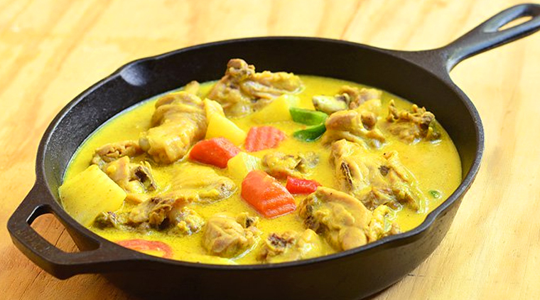Curried Chicken in Coconut Milk image