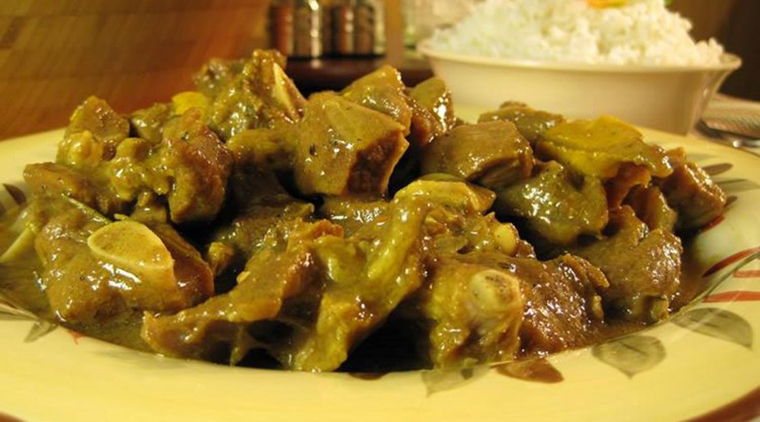 Jamaican Curry Goat image