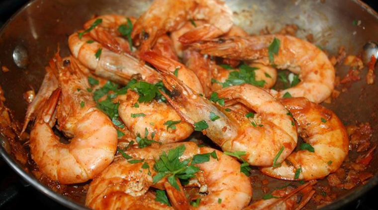 Jamaican Inspired Pepper Shrimp image
