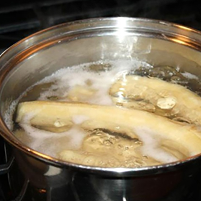 Boiled Green Banana image